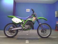 Kawasaki KX 125. 125 куб. см., исправен, птс, без пробега