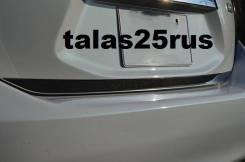 Накладка на дверь багажника. Toyota Aqua