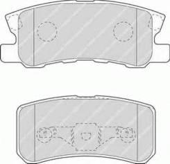 Колодки дисковые з.\Mitsubishi Pajero/Montero 1.8GDi/3.2Di/3.5GDi 99>
