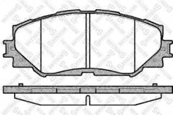 Колодки дисковые п.\ Toyota Rav 4 2.4/3.5i/2.4D 4WD 06>