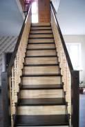 Лестницы из массива на заказ от ДревоЛад.