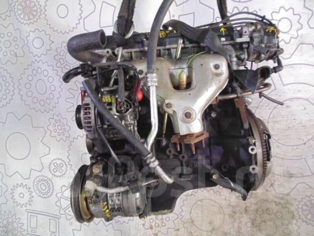 Контрактный (б у) двигатель Ниссан Альмера N15 99 г GA16 1,6 л бензин