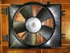 Вентилятор охлаждения радиатора. Nissan Bluebird Sylphy Nissan Sunny Hyundai Accent