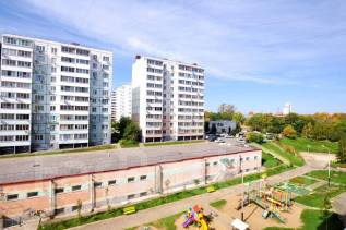 1-комнатная, улица Рабочий Городок 14. Центральный, агентство, 33 кв.м. Вид из окна днём