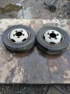 Dunlop SP LT 01. Зимние, без шипов, 2004 год, износ: 20%, 2 шт