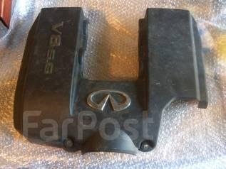 Защита двигателя пластиковая. Infiniti QX56