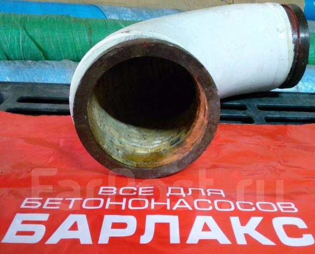 Угол бетоновода DN 125*R275*90 Керамический. KCP
