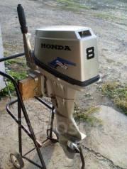 Honda. 8,00л.с., 4-тактный, бензиновый, нога S (381 мм)