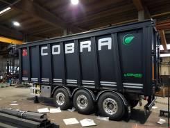 """Gervasi. Самосвальный полуприцеп Cobra KR50H"""" TDC368, 36 800кг."""