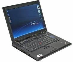 "Lenovo ThinkPad T61. 14"", 1,9ГГц, ОЗУ 1024 Мб, WiFi, Bluetooth, аккумулятор на 3 ч."