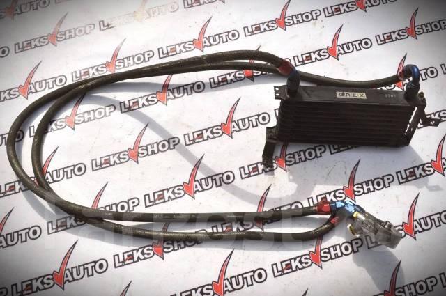 Проставка под масляный радиатор. Toyota Soarer, JZZ30 Двигатель 1JZGTE