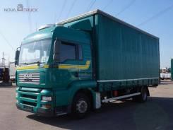 MAN TGA 18.390. Шторный грузовик , 10 518 куб. см., 9 100 кг.