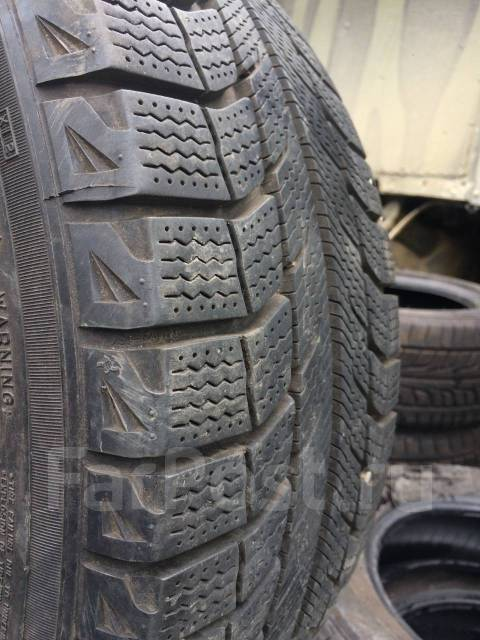 Michelin X-Ice. Зимние, без шипов, 2012 год, износ: 5%, 4 шт