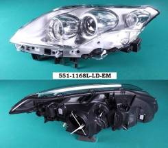 Фара. Renault Laguna, BT0/1, DT0/1, KT0/1 Двигатели: F4R, F4RT, M9R