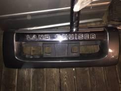 Накладка на бампер. Toyota Land Cruiser, VDJ200, URJ202W, UZJ200W, J200, UZJ200 Двигатели: 1VDFTV, 1URFE, 2UZFE, 3URFE