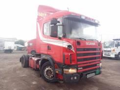 Scania. Седельный тягач R144LA, 14 190 куб. см., 18 000 кг.