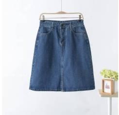Юбки джинсовые. 50, 52, 54, 56, 58