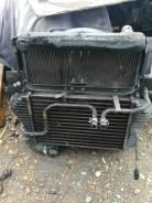 Радиатор охлаждения двигателя. Mitsubishi Canter, FE82 Двигатель 4M50