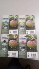 Продам оригинальные картриджи Epson T1291, 1292, 1293, 1294