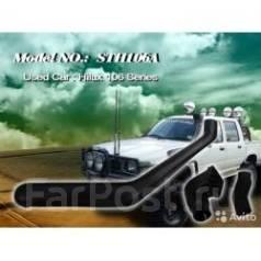 Шноркель. Toyota Hilux Surf Toyota Hilux Двигатели: 2L, 2LT, 2LTE, 3YE, 3YJ, 3Y, 3YC, 3YEU, 3YP, 4Y, 4YC, 4YE