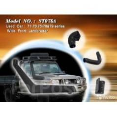 Шноркель. Toyota Land Cruiser Двигатели: 1HZ, 1HZZ, 1VDFTV