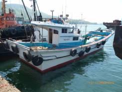 Продам шхуну рыбопромысловую. Год: 2000 год, длина 17,40м., двигатель стационарный, 380,00л.с., дизель
