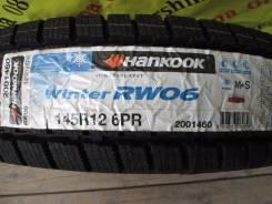 Hankook Winter RW06. Зимние, без шипов, 2017 год, без износа, 4 шт