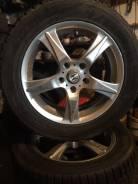 Продам комплект колес на литых дисках R-16 (Хонда). 6.5x16 5x114.30 ET55