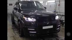 Обвес кузова аэродинамический. Elddis Vogue Land Rover Range Rover. Под заказ