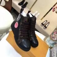 Шикарные ботинки кеды Louis Vuitton, новая модель!. 38