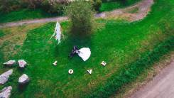Аэросьемка свадьбы с квадрокоптера