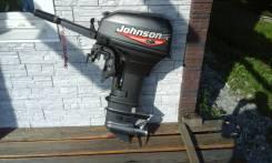 Johnson. 9,90л.с., 2-тактный, бензиновый, нога S (381 мм), 1998 год год