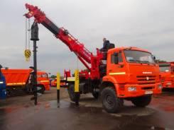 Kanglim. Бурильно-крановая машина Камаз 43502 с установкой KDC5600, 11 760 куб. см., 4 000 кг.