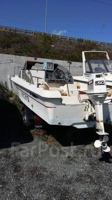 Yamaha FR-17. длина 5,00м., двигатель подвесной, 50,00л.с., бензин
