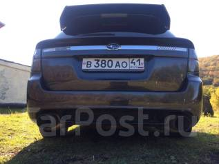 Спойлер. Subaru Legacy, BP5, BP9