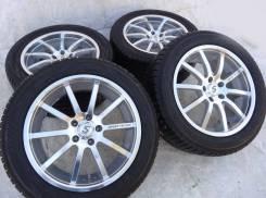 Разноширокие Sport Technic 19 с зимними Pirelli Scorpion. 8.5/9.5x19 5x120.00 ET40/35 ЦО 74,2мм.