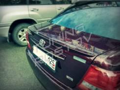 Спойлер. Toyota Corolla Axio, NZE141, NZE144, ZRE142, ZRE144