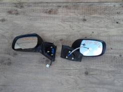 Зеркало заднего вида боковое. Toyota Vitz, SCP90 Двигатель 2SZFE