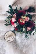 Свадебный букет и оформление
