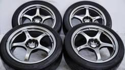 Колеса с шинами=Impul NS=R18 DEEP! Brembo! 4WD ОК! (№ 61347). 8.0x18 5x114.30 ET32