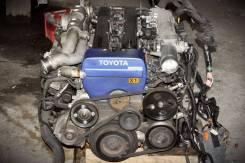Двигатель в сборе. Toyota Chaser Toyota Soarer Toyota Mark II Двигатель 1JZGTE