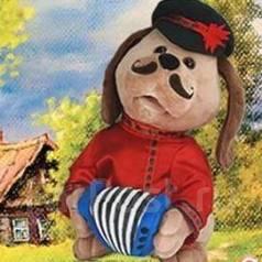 Анимированная игрушка «Собачка Ловелас».