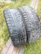 Michelin X-Ice North. Зимние, шипованные, износ: 50%, 2 шт