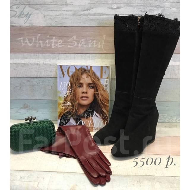 60466d3e3 Осенние замшевые сапоги ! Со Скидкой 3500р - Обувь во Владивостоке