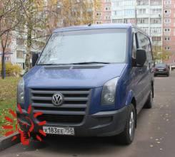 Volkswagen Crafter. 2.4 МТ, 2010, микроавтобус, 2 400 куб. см., 7 мест