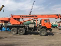 Камаз 43118 Сайгак. Продаётся автокран Ульяновоец 25т на базе Камаз 43118, 10 000 куб. см., 25 000 кг., 22 м.
