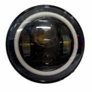 Светодиодные фары черные (2 шт, комплект) головного света P030