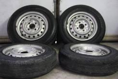 Bridgestone Duravis R670 165R14LT + штамповка 4x114.3 на Nissan NV200. 5.0x14 4x114.30