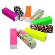 Блок шлифовальный 4-сторонний цветной баф