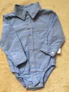 Боди-рубашки. Рост: 60-68, 68-74 см